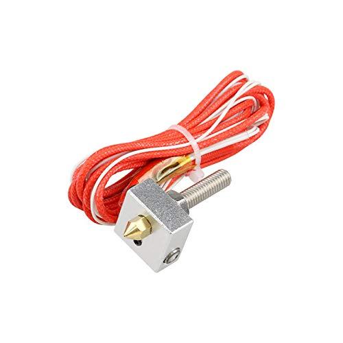 Mechatronics-Pro Hot End MK8 - Kit de extrusor (30 mm, 0,4 mm, 1,75 mm, boquilla A6, A8, impresora 3D, 12 V, 40 W)