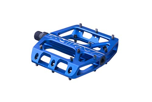 Sixpack Kamikaze 3.0 Alu Flat Fahrrad Pedal blau