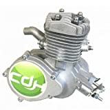 CDHPOWER 2 Stroke PK80 Motor-Silver Color Engine-Gas Motorized Bicycle 66cc/80cc