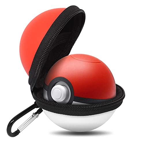 SDSF Pokemon Carry Case para Poke Ball Plus Controller Funda Protectora Dura Portátil De Viaje Pokeball Bolsa para Interruptor
