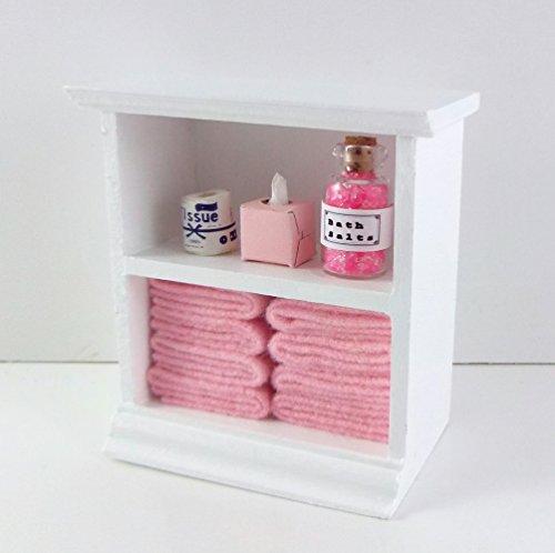 FURINNO 11-Cube Reversible Open Shelf Bookcase, White/Pink