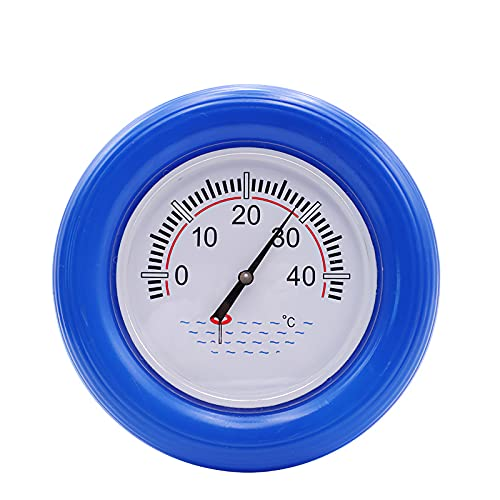 BTOPER Rundes Poolthermometer, g...