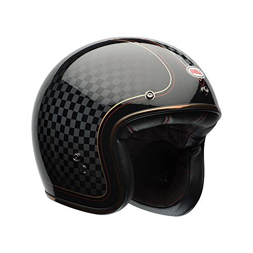 Bell Powersports Custom 500 Motorradhelm, Schwarz (RSD Check It), L