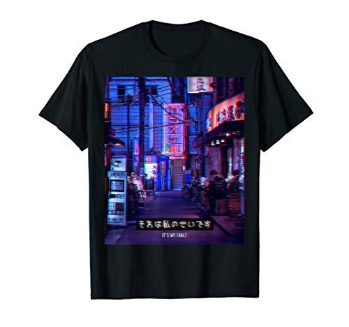 Aesthetic Style Vaporwave Japan 80er 90er Meme Tokyo Osaka T-Shirt