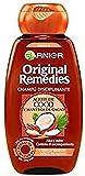 Garnier Original Remedies - Champú Disciplinante con Aceite