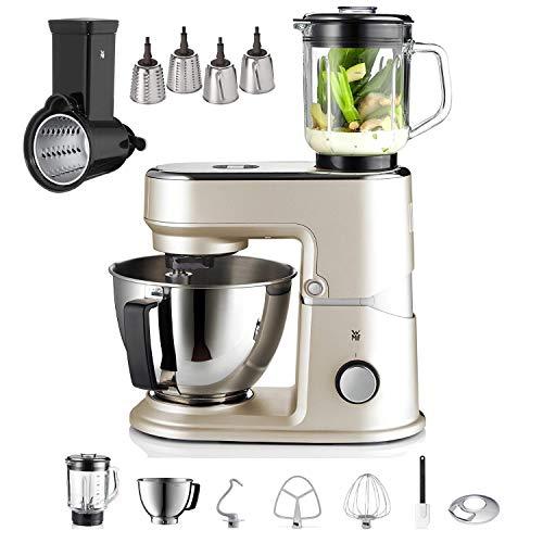 WMF Küchenminis Küchenmaschine One for All, Cromargan-Rührschüssel 3 l ivory mud + WMF Profi Plus oder WMF Küchenminis Küchenmaschine