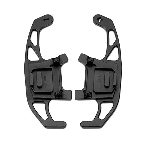 Eventualx Lenkrad Schaltwippen Aluminiumlegierung Robust Langlebig Paddle Shifter Praktisch Schaltpaddel Für Golf GTI R GTD GTE MK7 7 Polo GTI Scirocco 2014-2019 (schwarz)