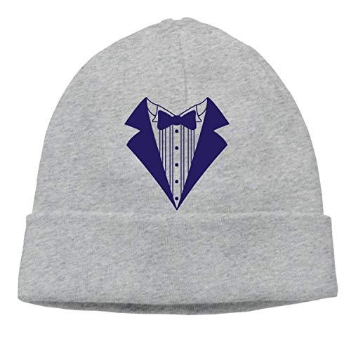 Yuanmeiju Tuxedo Adult Hip Hop Breakdance Gorros Caps Unisex Soft Cotton Hedging Cap