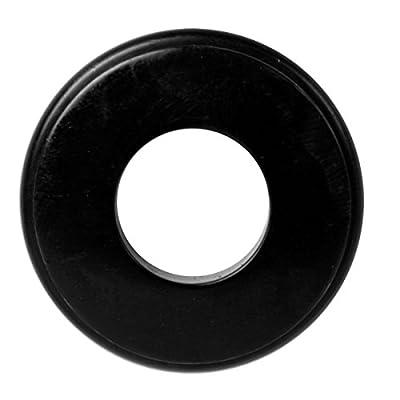 25 Black Gladhand Seals 10028 Black Rubber Gladhand Seals