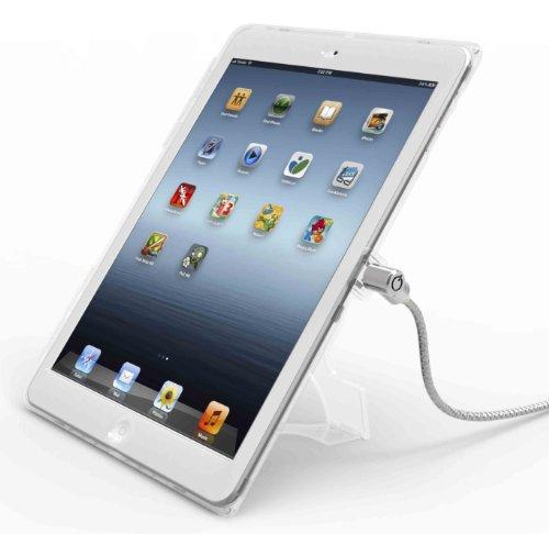 Maclocks Custodia di Sicurezza con Lucchetto per iPad Air, Trasparente