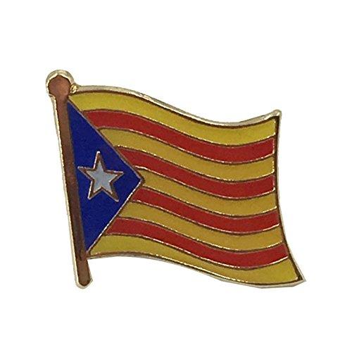 Catalonië Catalaanse vlag metalen pin badge