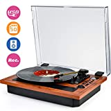 Best Turntables - Turntable Vinyl Record Player Support Wireless in Review