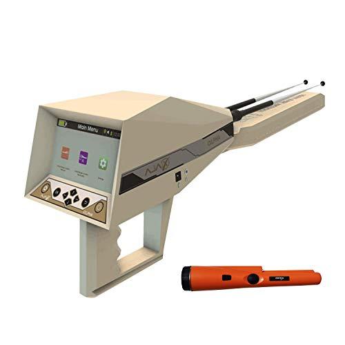 AJAX DETECTION Alpha Metal Detector - Professional Metal Detector - Depth Gold and Metal Detector - Underground Treasure Gold Detector -with Pin Pointer