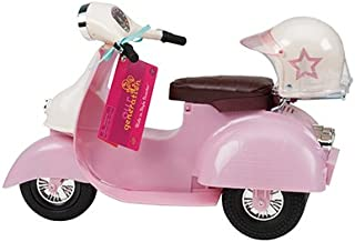 Our Generation Pink and Ivory Scooter