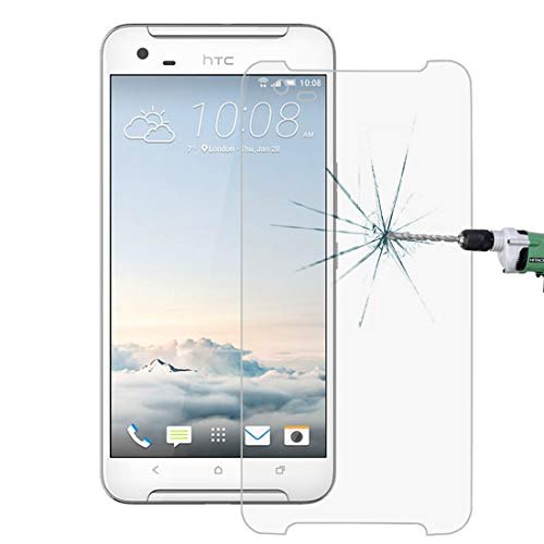 Zhouzl Película templada de HTC 100 PCS for HTC One X9 0.26mm 9H Dureza Superficial 2.5D Película Protectora de Pantalla de Vidrio Templado a Prueba de explosiones Película templada de HTC