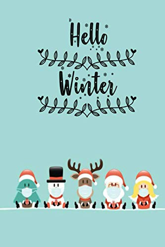 Wintet merry christmas happy new year book: santa claus surgical mask book for kids