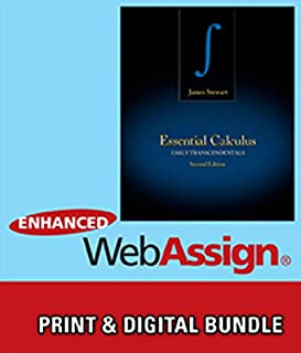 Bundle: Essential Calculus: Early Transcendentals, 2nd + WebAssign Printed Access Card for Stewart's Essential Calculus: Early Transcendentals, 2nd Edition, Multi-Term