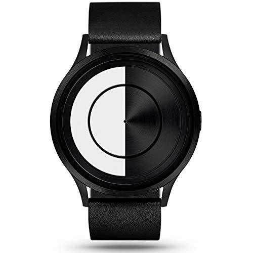Ziiiro Lunar Unisex Uhren Schwarz