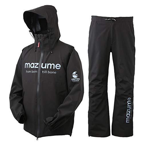 mazumeコンタクトレインスーツMZRS-461-03ブラックL