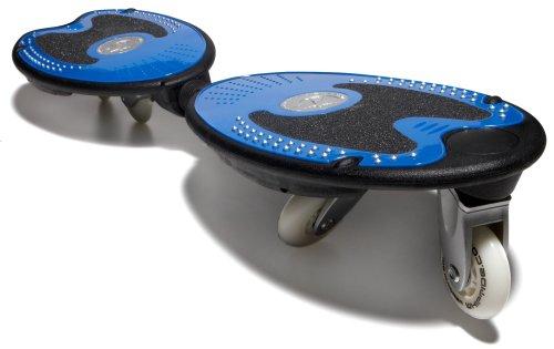 Whiptide Dual Deck Caster Carve Board, Blue