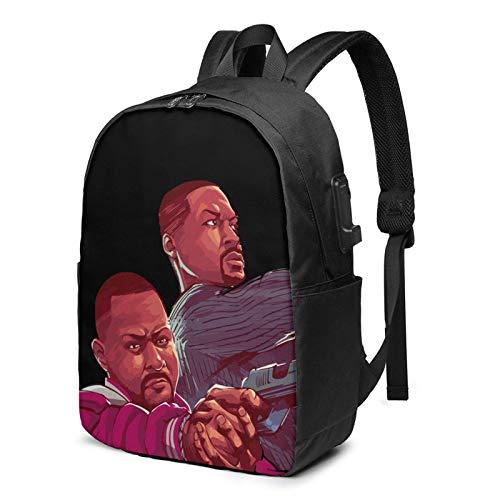 IUBBKI Bolsa para computadora mochila USB Ba-D Boys For Li-Fe 17 Inch Laptop Backpack For Men & Women,Travel/School Backpack With Usb Charging Port & Headphone Interface