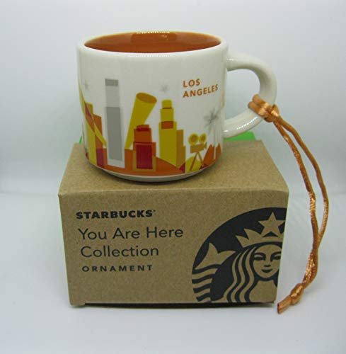Starbucks You Are Here Collection Los Angeles Weihnachts-Ornament Tasse