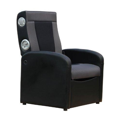 X Rocker 0711701 Triple Flip Storage Ottoman Sound Chair