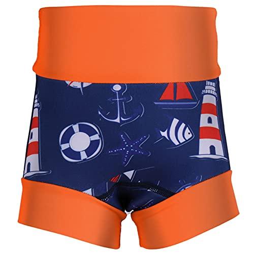 Zératy Couches de bain pour bébé Couvre-culottes pour tout-petits, taille haute, protection du ventre, short de bain pour enfants, couche de natation en réutilisable pour la piscine et la mer