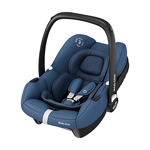Maxi-Cosi Tinca, Silla de Coche para Bebé i-Size, Silla de Coche Grupo 0+, Desde los 45 cm hasta los 75 cm, 0-12 kg, Essential Blue (azul)