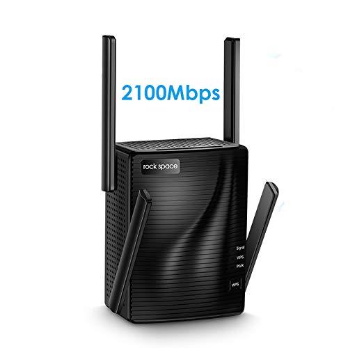 Rockspace 2100Mbps Dual Band WiFi Range Extender
