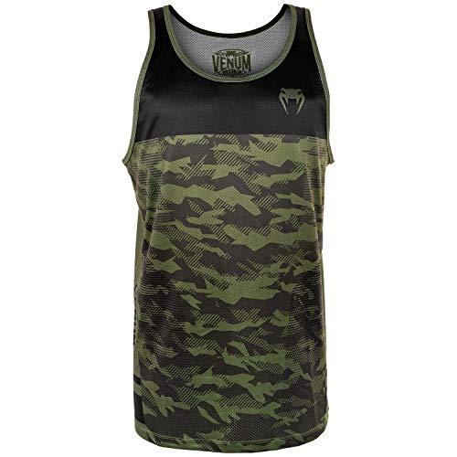 Venum Herren Trooper Tank Top, Forest Camo/Schwarz, XXL