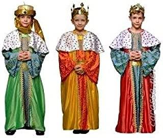 Disfraz de Rey Mago infantil (surtido) - Color - Amarillo, Talla ...