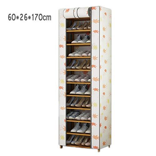 LHY- Schoenenkast meerlagige huishoudens opbergrek 11 lagen stofdichte grote ruimte schoenenkast Winkel (Size : 60cm)
