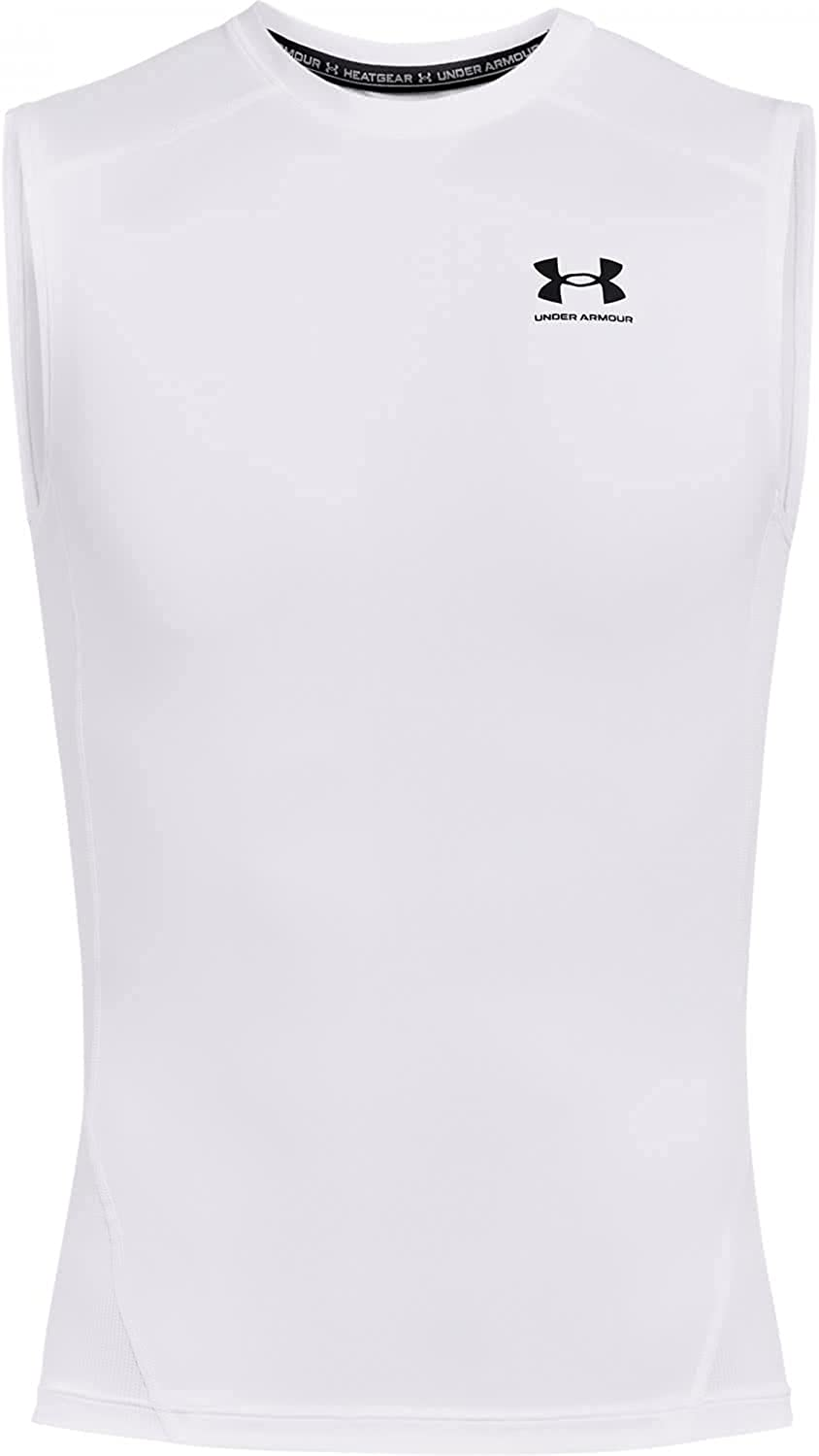 Under Armour OFFicial store Men's HeatGear OFFicial store Sleeveless T-Shirt Compression