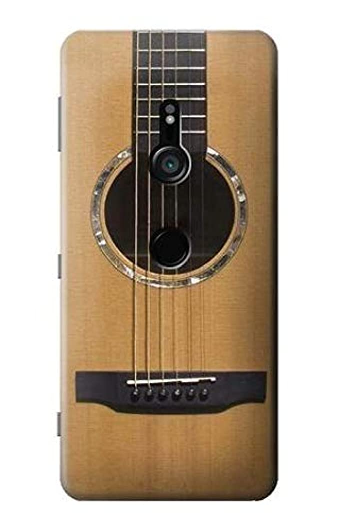 R0057 Acoustic Guitar Case Cover for Sony Xperia XZ3