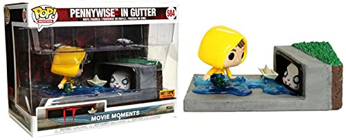 Funko Pop Movie Moments: It Pennywise in Gutter Pop Vinyl Exclusive Limited Edition