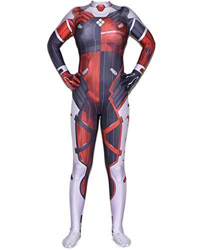 Disfraz Cosplay Harley Quinn Suicide Squad para Mujer Y Niña Costume de Halloween Carnaval Monos/2XL