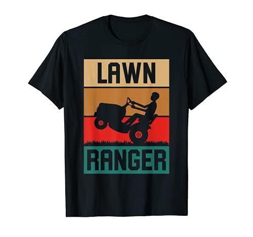 Cortacésped Ranger Retro Cortacésped Jardinero Vintage Tractor Cortacésped Camiseta