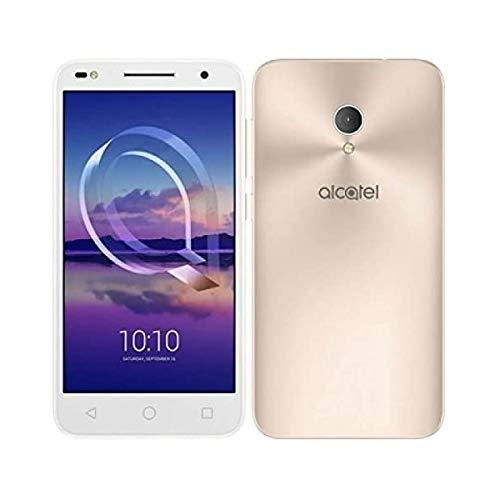 "Alcatel U5 HD Premium - Smartphone de 5"" (memoria interna de 16 GB, 2 GB de RAM, cámara de 8 MP, Android) color oro"