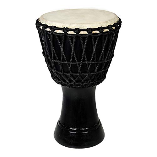 Clapbox Djembe - Mango Wood (8 Inches, Black)