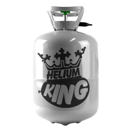 Helium King Helium Canister - 30 Balloon Helium Gas Cylinder