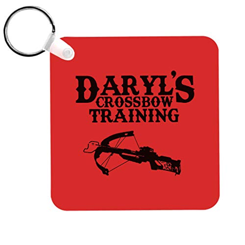Cloud City 7 Daryls Crossbow Training Walking Dead Keyring