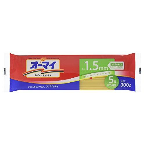 日本製粉 オーマイ スパゲッティ1.5mm 300g