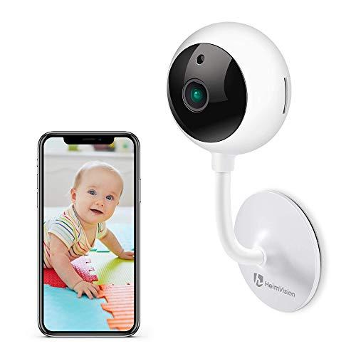 1080P Baby Monitor HeimVision Video Camera Wifi per Interno Telecamera Neonato con Visione Notturna, Audio Bidirezionale, Rilevazione di Movimento, Telecamere Wifi Interno con Servizio Cloud
