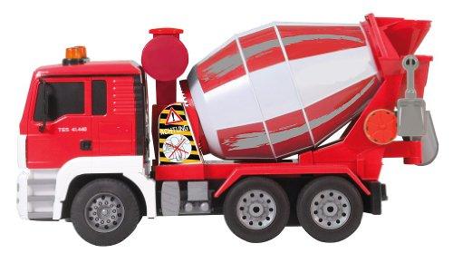 RC Auto kaufen Baufahrzeug Bild 2: BUSDUGA RC MAN Betonmischer 27MHz ferngesteuert & drehende Mischtrommel mit Entladefunktion - Motorsound, Hupe, Licht INKL. BATTERIEN - komplett Set*