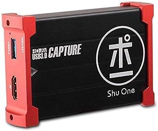 ShuOne キャプチャカード USB 3.0 HDMIゲームキャプチャカード HDMIループアウトサポート HDビデオ 1080P 60Hz Windows 7/8/10 Linux YouTube OBS Twitch PS5 PS4 Xb...