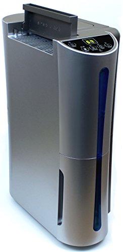 Preisvergleich Produktbild Komerci D012A Luftentfeuchter Raumentfeuchter Bautrockner leise,  22L / Tag,  gegen Schimmel Feuchtigkeit in Keller Wohnung Schlafzimmer,  silbergrau