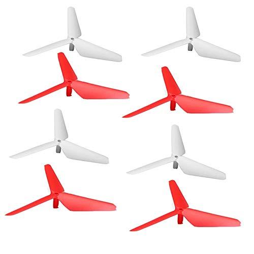 HongYi hélice Actualización de la lámina 3 de la hoja Propulsores Prop Cuchilla de repuestos for SYMA X5c X5A X5SC X5SW X5W-1 RC Drone Propeller accesorio Cuchilla Accesorios avión no tripulado