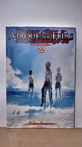 Mangá Ataque dos Titãs Volume 22