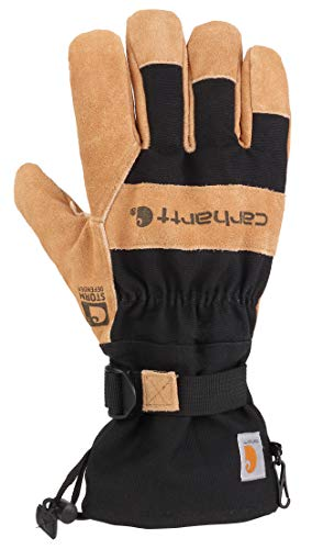 Carhartt Men's Snowdrift Glove, Black, L